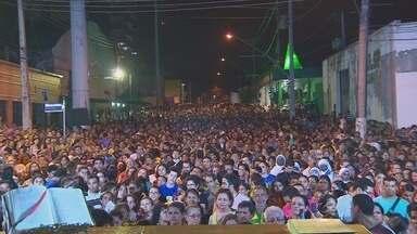 Procissão dá início aos festejos do Círio de Nazaré em Manaus - Diversas missas festivas serão celebradas ao longo do dia.