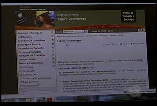 A partir de abril do ano que vem, o pedido de seguro-desemprego será feito pela internet - O anúncio foi divulgado na última sexta-feira, no Diário Oficial