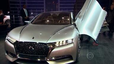 Pegeout, Audi e Citroen apresentam seus modelos conceito - Materiais reciclados, luz de led, laser e muita tecnologia nos carros conceito Exalt, Q80 e Drive.