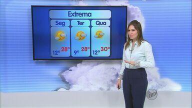 Confira a previsão do tempo no Sul de Minas para esta segunda-feira (27) - Confira a previsão do tempo no Sul de Minas para esta segunda-feira (27)