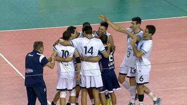 Minas estreia com vitória sobre o Juiz de Fora na Superliga de Vôlei Masculino - Equipes mineiras estrearam bem na competição nacional de vôlei