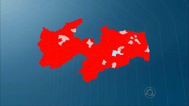 JPB2JP: Dilma Rousseff só não venceu em duas cidades paraibanas - Veja mapa.