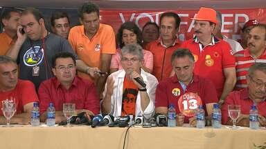Acompanhe a festa dos eleitores de Ricardo Coutinho em JP e CG - Veja como foi a festa dos eleitores.