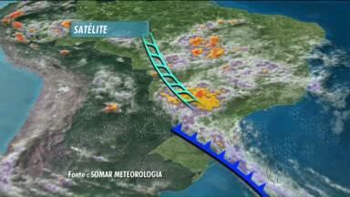 Previsão do tempo - Fim de semana com temporais no Paraná.