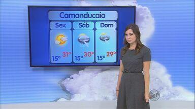 Confira a previsão do tempo no Sul de Minas para esta sexta-feira (31) - Confira a previsão do tempo no Sul de Minas para esta sexta-feira (31)
