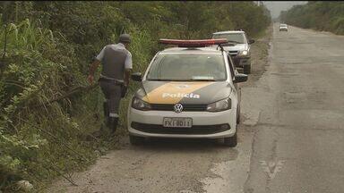 Caminhoneiros são assaltados na Ilha Barnabé - Criminosos trocaram tiros com a polícia