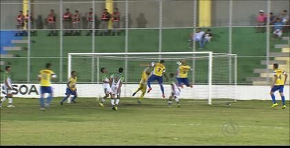 Lucena volta a vencer o Leonel e avança na 2ª divisão - Tubarão do Norte vence por 1 a 0 e está no triangular da competição estadual.