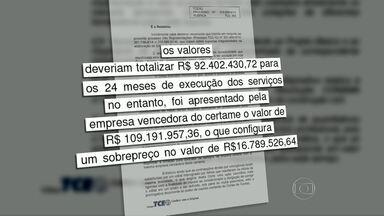 Prefeito de São Gonçalo é multado por irregularidades na licitação para coleta de lixo - O Tribunal de Contas do Estado encontrou um sobrepreço de mais de R$ 16 milhões na licitação para coleta de lixo em São Gonçalo.