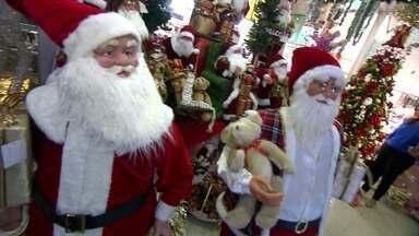 Natal chega ao comércio do DF - O Natal chegou ao comércio do DF. O setor se esforça para atrair clientes, mas o número de famílias envolvidas está maior.