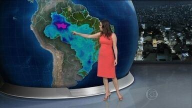 Previsão é de chuva forte em grande parte do Brasil - A previsão é de chuva forte em grande parte do Brasil. Só não vai chover entre Roraima, Paraíba e norte do Rio de Janeiro.