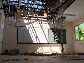 Escola em São José enfrenta problemas de estrutura - Escola em São José enfrenta problemas de estrutura
