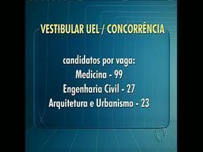 Vestibular da UEL é amanhã - Apesar da data coincidir com o vestibular da Universidade Federal do Paraná, concorrência ainda é grande para alguns cursos. Vestibulandos devem estar atentos às orientações para realizar a prova.