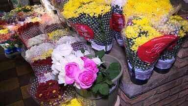 Procura por flores aumenta por causa do Dia de Finados em Aracaju - Procura por flores aumenta por causa do Dia de Finados em Aracaju.