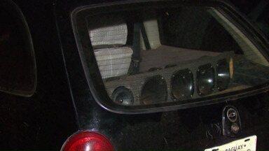 Carros roubados são recuperados pela polícia - Um deles foi tomado de assalto em Santa Terezinha de Itaipu