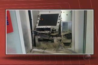 Caixas eletrônicos são explodidos no interior da BA - Crimes ocorreram nas cidades de Sátiro Dias e Nazaré das Farinhas.