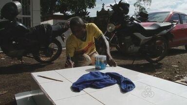 Rondônia TV mostra preparação para dia de finados, em Rondônia - Dia de finados é comemorado neste domingo, em todo o país.