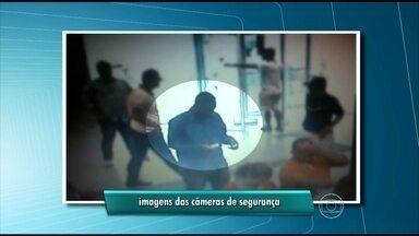 Câmeras registram assalto a banco na Zona Sul do Recife - Seis homens teriam participado do crime.