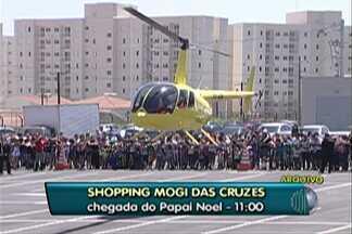 Papai Noel chega ao shopping de Mogi das Cruzes neste domingo - Crianças serão atendidas no período da tarde.