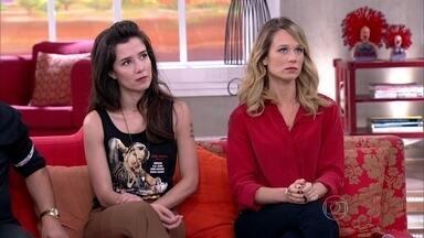 Convidados falam sobre os limites do amor - Mariana Ximenes e Marjorie vivem personagens que amam demais