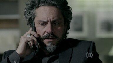 Império - capítulo de segunda-feira, dia 10/11/2014, na íntegra - Zé Alfredo manda Cristina à Império