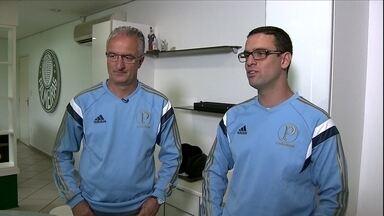 Dorival Júnior trabalha com a ajuda do filho no Palmeiras - Lucas é auxiliar do pai desde 2010 e sonha em ser treinador
