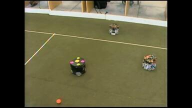 Projetos de alunos da FURG ganham segundo lugar em competição de robótica - O grupo já trabalha em uma versão melhorada dos robôs para 2015.