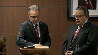 Novo procurador-geral de Justiça de Minas Gerais toma posse - Carlos André Mariani Bittencourt ficará à frente do Ministério Público de Minas Gerais por mais dois anos.