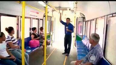 Usuários do metrô de Teresina passam por desconforto ao usar o transporte - Usuários do metrô de Teresina passam por desconforto ao usar o transporte