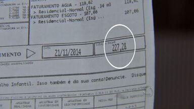 Moradores reclamam de contas abusivas de água em Cuiabá - Moradores reclamam de contas abusivas de água em Cuiabá.