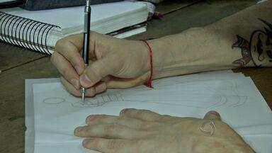 Quadro mostra trabalho dos profissionais da moda em Cuiabá - Quadro mostra trabalho dos profissionais da moda.