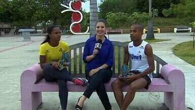 Atletas sergipanos Adriana Lopes e Alan Bezerra falam sobre pódio na Volta de Aracaju - Atletas sergipanos Adriana Lopes e Alan Bezerra falam sobre pódio na Volta de Aracaju