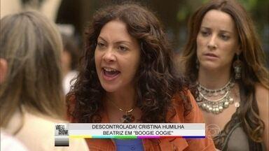 Cristina dá barraco e humilha Beatriz em Boogie Oogie - Reveja a cena bafônica da novela das 6