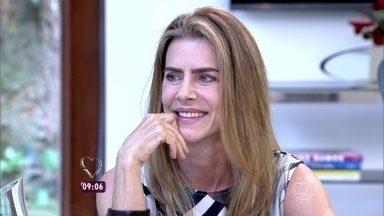 Maitê Proença fala de relação patrão empregado - Atriz dispensou mensalista e agora tem faxineiro uma vez por semana