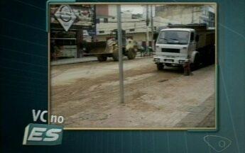 VC no ESTV: Moradores reclamam de alagamentos em Colatina, ES - Segundo moradores, basta apenas pouco mais de uma hora de chuva para os bairros São Silvano e Novo Horizonte apresentarem problemas.