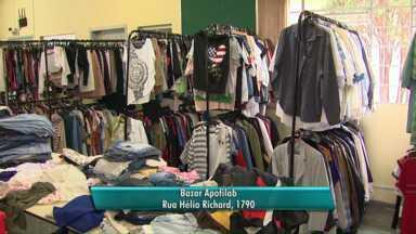 Apofilab organiza bazar em Cascavel - Renda será para ajudar a instituição