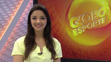 Maíra Lemos apresenta os destaques do Globo Esporte MG desta quarta-feira - Confira os detalhes do sorteio da Libertadores que definiu os grupos de Cruzeiro e Atlético-MG no torneio