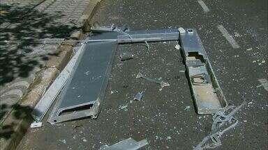 Caixa eletrônico é explodido no Centro de São Sebastião do Paraíso - Caixa eletrônico é explodido no Centro de São Sebastião do Paraíso
