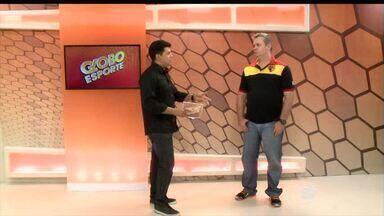 Técnico do Cajuína fala sobre a preparação dos jogadores para o jogo desta quarta (03) - Técnico do Cajuína fala sobre a preparação dos jogadores para o jogo desta quarta (03)