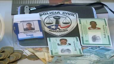 Dois homens suspeitos de praticar saidinha bancária foram presos em São Luís - Dois homens suspeitos de praticar saidinha bancária foram presos em São Luís