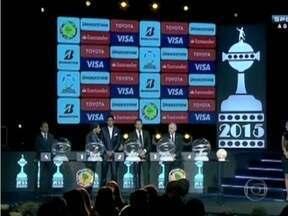 Foram sorteados os grupos da Libertadores 2015 - Atlético e Cruzeiro são cabeças de chave. A fase de grupo começa no dia 18 de fevereiro.