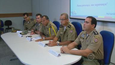 Polícia Militar reforça segurança na Agamenon Magalhães e no Centro do Recife - Detalhes foram apresentados em coletiva à imprensa.