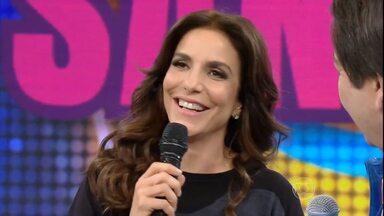 Ivete Sangalo concorre na categoria Melhor Cantora no Melhores do Ano - Assista ao vídeo e vote na cantora