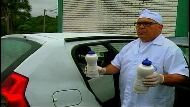 Dez pessoas são presas na operação leite compensado - Acusados colocavam água e sal no leite.