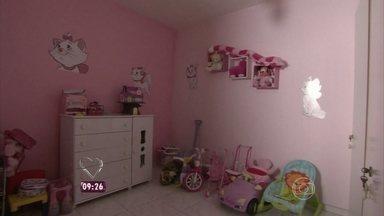 Dando um Retoque de Natal transforma o quarto da menina Lara - Conheça um pouco da família que ganhou a transformação