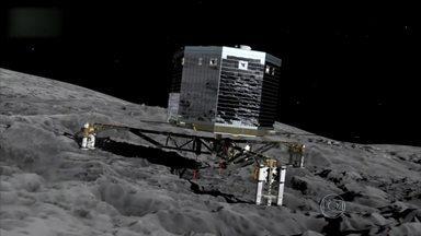 Cientistas europeus concluem que cometas não trouxeram água para Terra - A pesquisa, ainda preliminar, defende teorias anteriores de que a água terrestre veio de asteroides. A sonda mantida pela Agência Espacial Europeia está em órbita desde agosto.