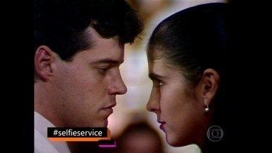 Ivete Sangalo pede para rever cena de Anos Dourados - Cantora afirma que minissérie de 1986 marcou sua vida