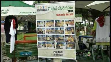 10ª edição do Natal Solidário é realizada neste sábado, em Fortaleza - Evento acontece na Praça dos Estressados, na Avenida Beira Mar.