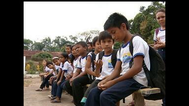 Alunos da comunidade cucurunã reclamam da falta de ônibus escolar - Comunidade fica localizada na região do eixo forte, em Santarém.