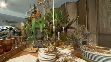 Veja dicas para decorar a mesa de Natal - Confira dicas criativas para deixar a casa enfeitada para a ceia de Natal.