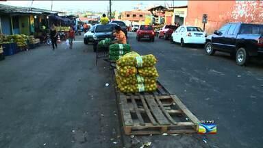 Veja as condições da feira do bairro do João Paulo - Assunto foi destaque no Bom Dia Mirante